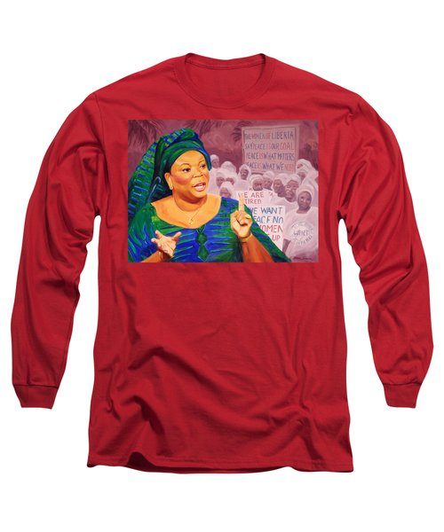 Leymah Gbowee Long Sleeve T-Shirt