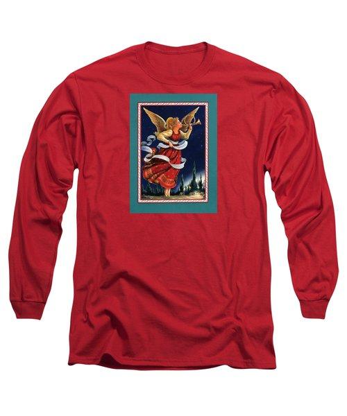 Little Town Of Bethlehem Long Sleeve T-Shirt