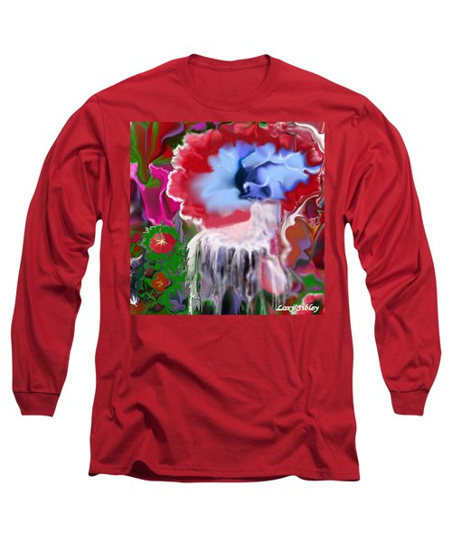 Living Water Long Sleeve T-Shirt by Loxi Sibley