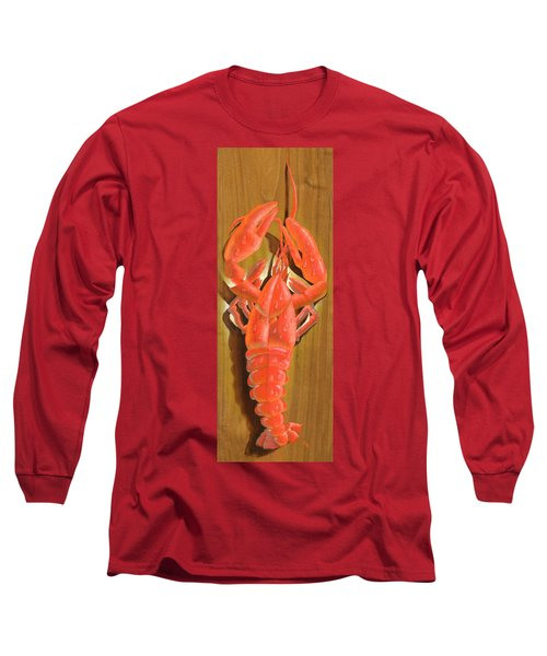 Lobster On A Plank Long Sleeve T-Shirt