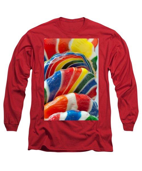 Long Sleeve T-Shirt featuring the photograph Lollipop  by Gunter Nezhoda
