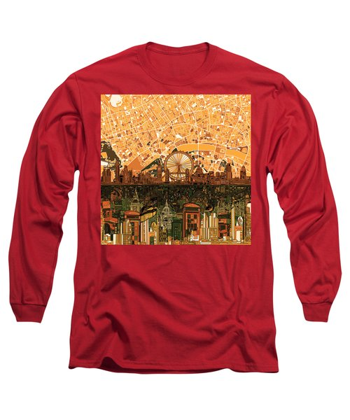 London Skyline Abstract 7 Long Sleeve T-Shirt