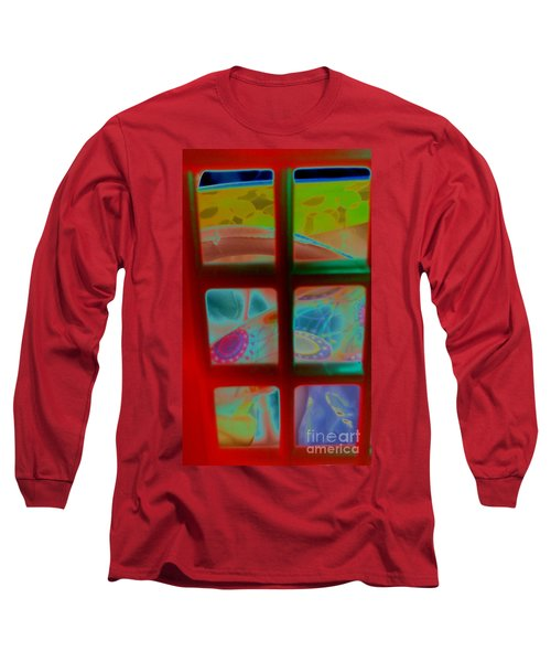 Look Through Any Window Long Sleeve T-Shirt by Martin Howard