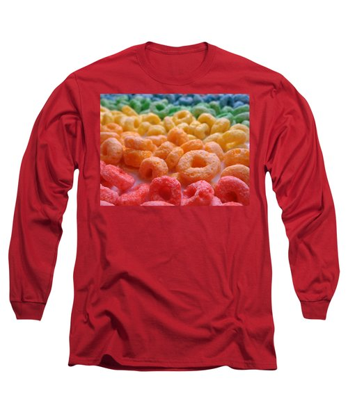 Loops Long Sleeve T-Shirt by Joseph Skompski
