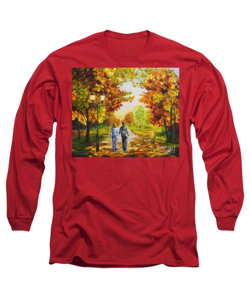 Love In Autumn Long Sleeve T-Shirt