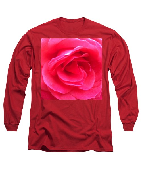 Love In Full Bloom - Anniversary Rose Long Sleeve T-Shirt