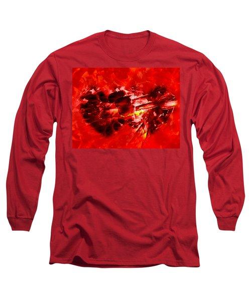 Love Opening Long Sleeve T-Shirt by Kathy Bassett