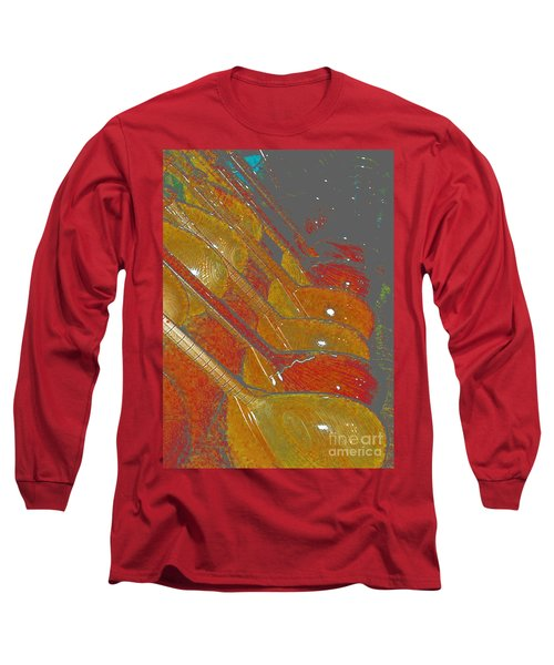 Long Sleeve T-Shirt featuring the photograph Lutherie by Luc Van de Steeg