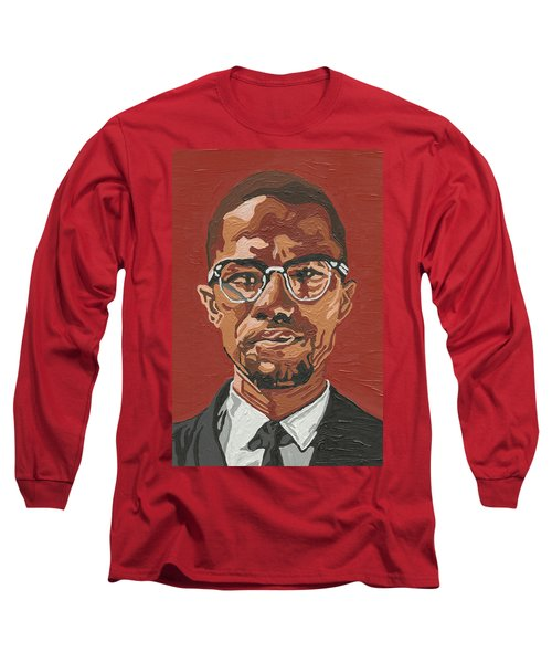 Malcolm X Long Sleeve T-Shirt