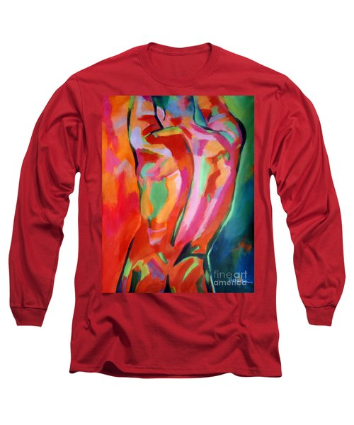 Male Figure Long Sleeve T-Shirt