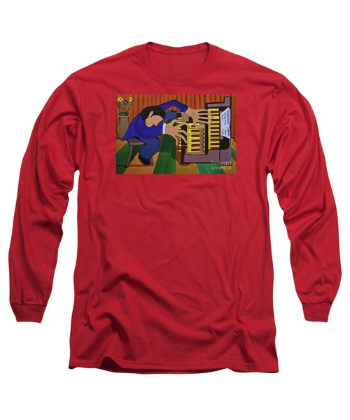 The Organist Long Sleeve T-Shirt