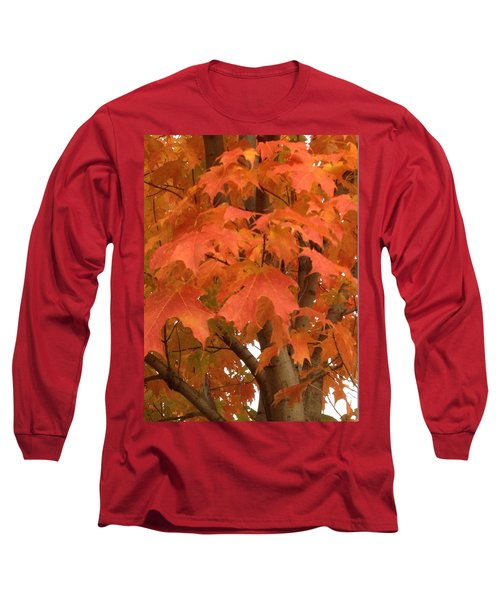 Maple Orange Long Sleeve T-Shirt