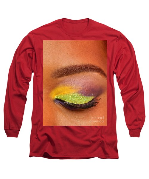 Mardi Gras 2014 Eye See Colors Of Mardi Gras Long Sleeve T-Shirt