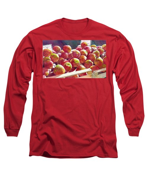 Market Apples Long Sleeve T-Shirt
