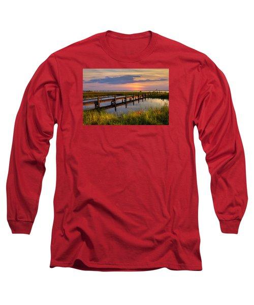Marsh Harbor Long Sleeve T-Shirt