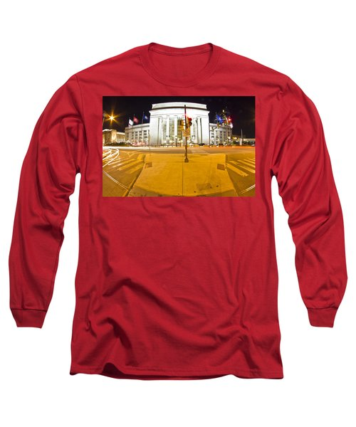 Midnight Train From Philly Long Sleeve T-Shirt