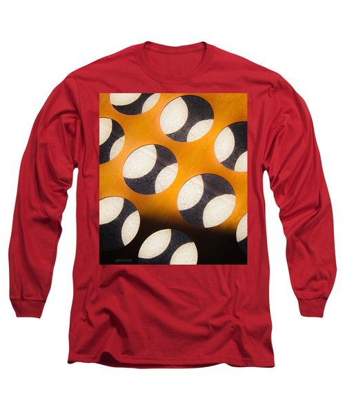 Mind - Hemispheres  Long Sleeve T-Shirt by Steven Milner