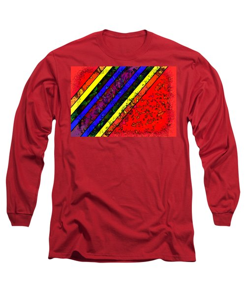 Mingling Stripes Long Sleeve T-Shirt