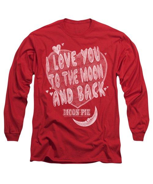 Moon Pie - I Love You Long Sleeve T-Shirt