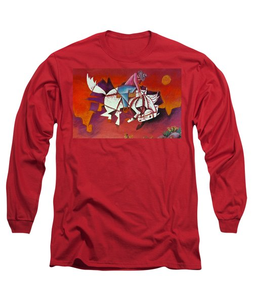 Moonlight Ride Long Sleeve T-Shirt by Bern Miller