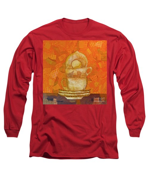Morning Joe Long Sleeve T-Shirt by Desiree Paquette