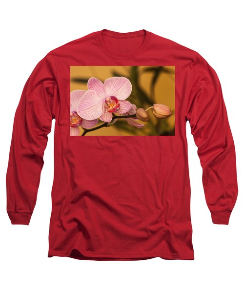 Moth Orchid Long Sleeve T-Shirt