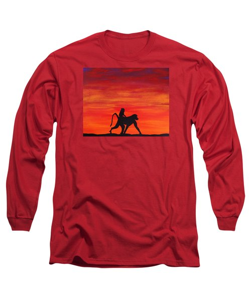 Mother Africa 4 Long Sleeve T-Shirt by Michael Cross