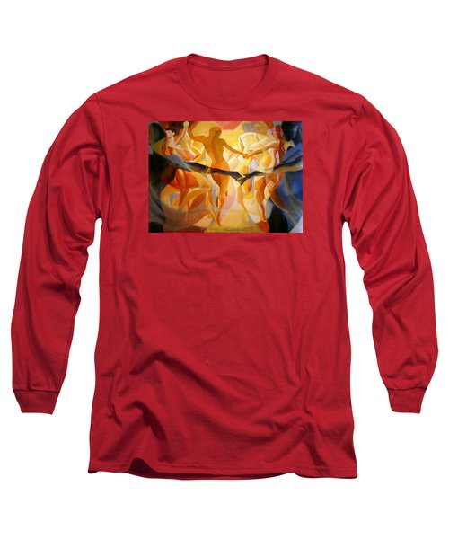 Long Sleeve T-Shirt featuring the painting Moving Nimbus by Georg Douglas