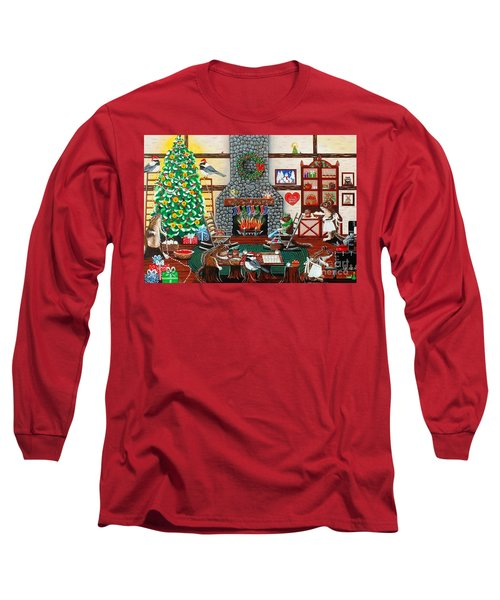 Ms. Elizabeth's Holiday Home Long Sleeve T-Shirt
