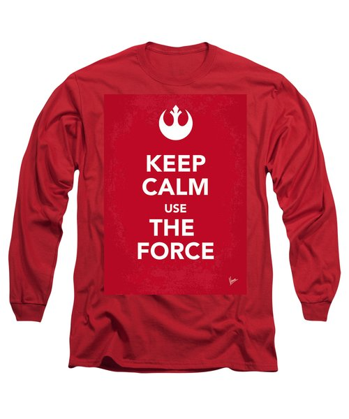 My Keep Calm Star Wars - Rebel Alliance-poster Long Sleeve T-Shirt