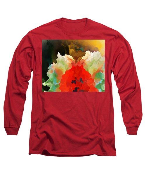 Long Sleeve T-Shirt featuring the digital art Mystic Bloom by David Lane