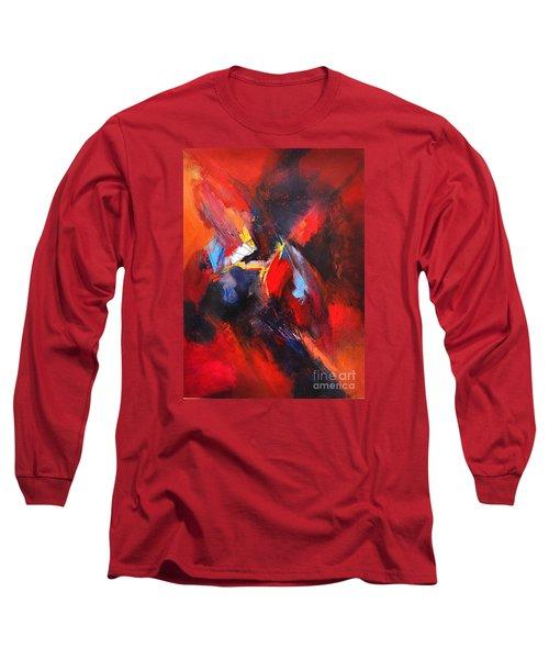 Mystic Image Long Sleeve T-Shirt by Glory Wood