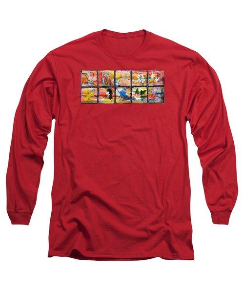 native Texas wildflowers B Long Sleeve T-Shirt