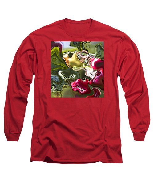 Long Sleeve T-Shirt featuring the painting Naturescape by Richard Thomas
