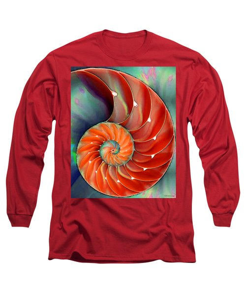 Nautilus Shell - Nature's Perfection Long Sleeve T-Shirt