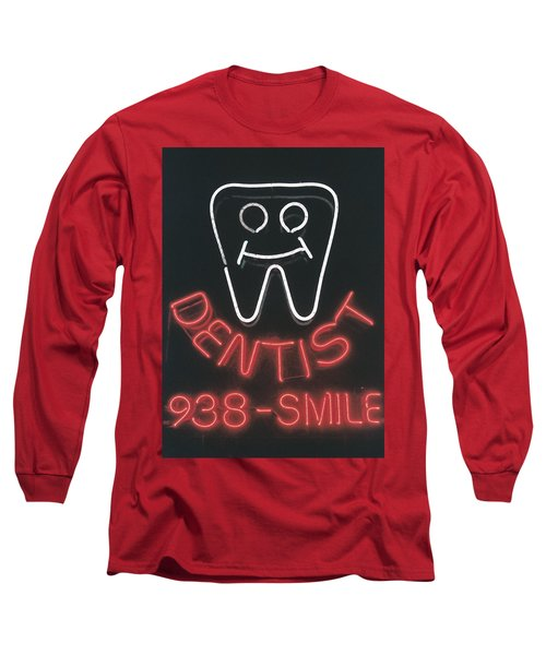 Neon Smile Long Sleeve T-Shirt