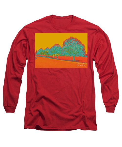 Neon Trees In The Fall Long Sleeve T-Shirt