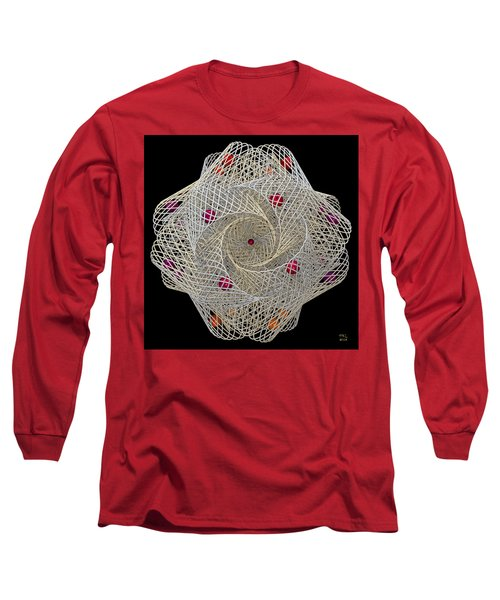Netted Long Sleeve T-Shirt by Manny Lorenzo