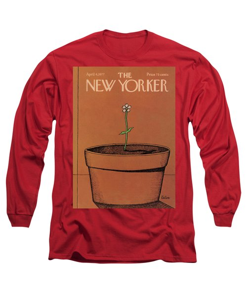New Yorker April 4th, 1977 Long Sleeve T-Shirt