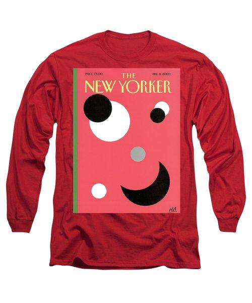 New Yorker December 11th, 2000 Long Sleeve T-Shirt
