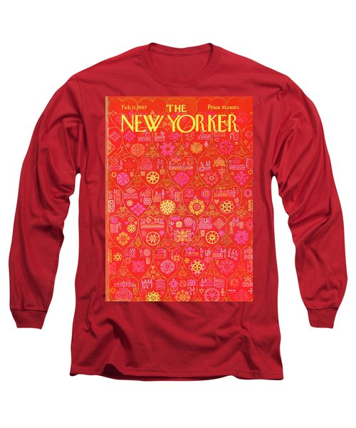 New Yorker February 11th, 1967 Long Sleeve T-Shirt