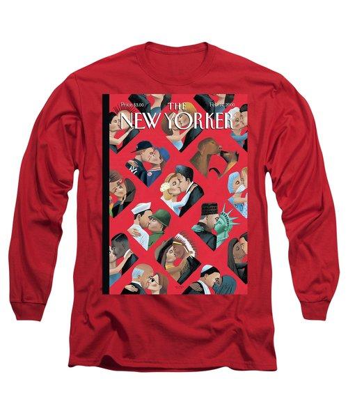 New Yorker February 14th, 2000 Long Sleeve T-Shirt