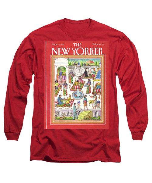 New Yorker June 1st, 1992 Long Sleeve T-Shirt