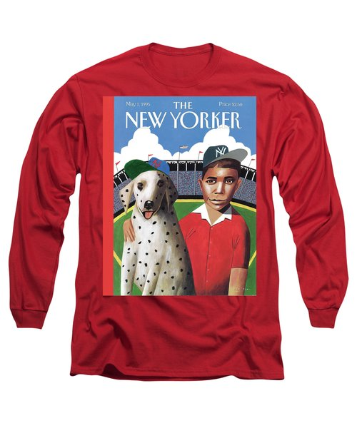 New Yorker May 1st, 1995 Long Sleeve T-Shirt
