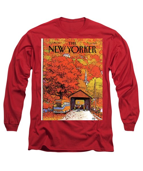 New Yorker October 19th, 1981 Long Sleeve T-Shirt