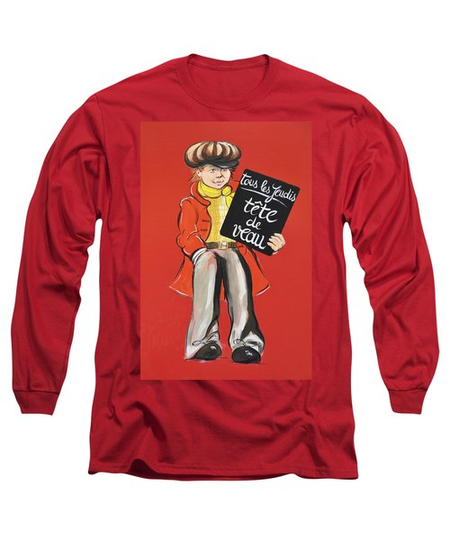 Newsboy Long Sleeve T-Shirt