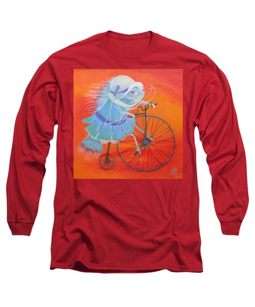 Niece Sonia Long Sleeve T-Shirt by Marina Gnetetsky