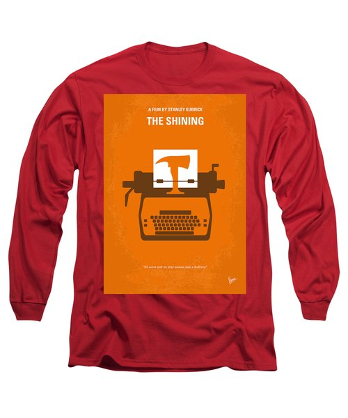 No094 My The Shining Minimal Movie Poster Long Sleeve T-Shirt by Chungkong Art