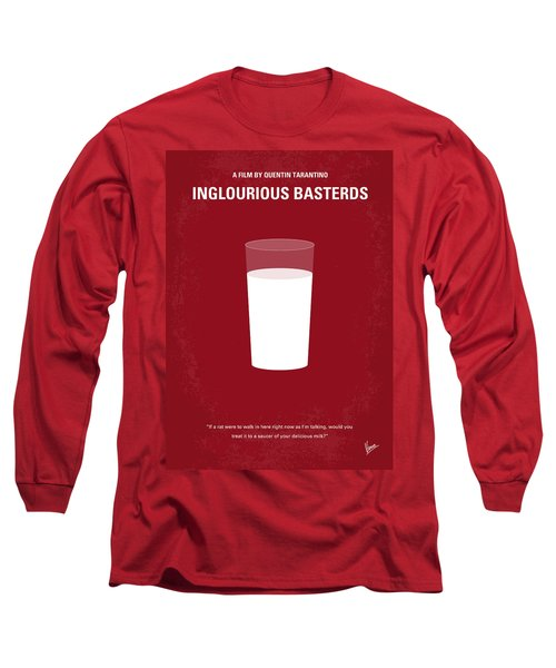 No138 My Inglourious Basterds Minimal Movie Poster Long Sleeve T-Shirt