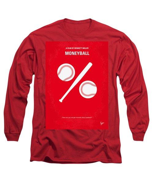 No191 My Moneyball Minimal Movie Poster Long Sleeve T-Shirt